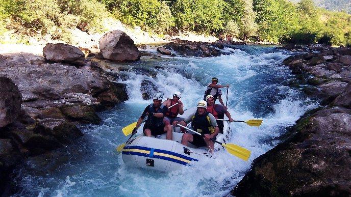 Konjic River Rafting